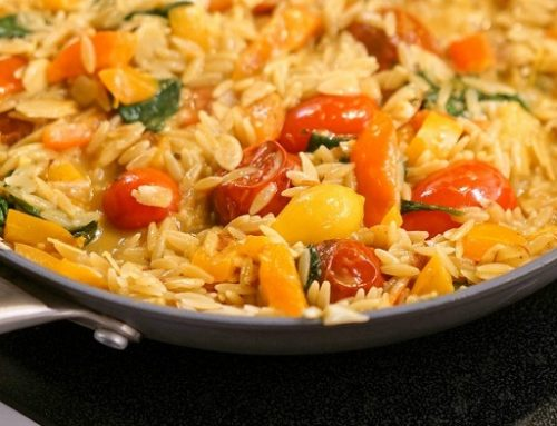 Coconut Curry Veggie Pasta – A Healthier Vegan Recipe That Is Good for Winter